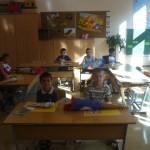 Der erste Schultag in der Vorschulklasse