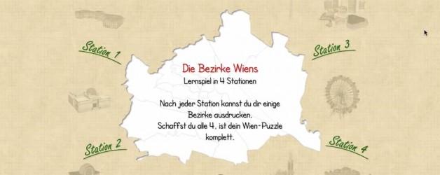 Bezirke Wiens