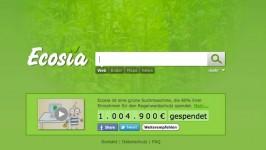 Eine grüne Suchmaschine