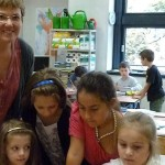 Unterstützung durch eine Förderlehrerin