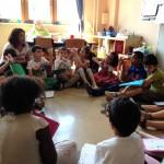 Besuch der neuen Schülerinnen und Schüler
