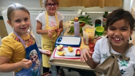 HEALTHY COOKING AT SCHOOL