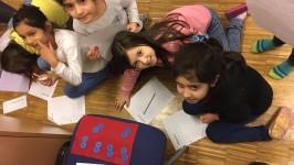Die 2A lernt das Multiplizieren